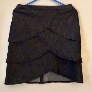 Denim Tulip Skirt
